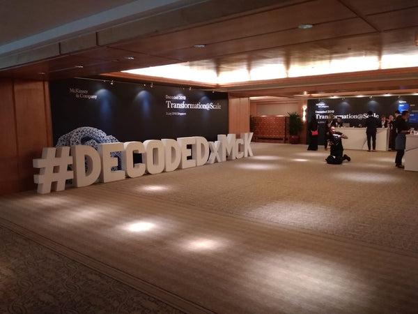 Mckinsey Decoded 2019 Conference @ Ritz Carlton