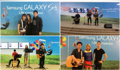 Samsung Galaxy S4 Launch @ Ngee Ann Civic Plaza