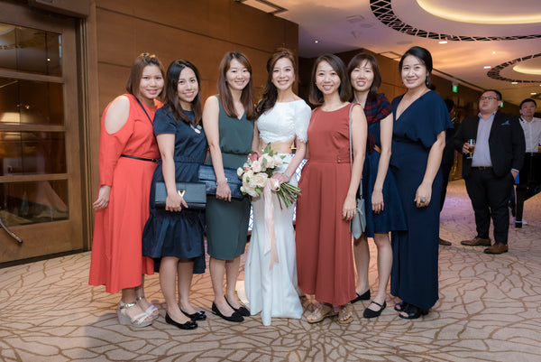 Kian & Angeline's Wedding @ Fullerton Hotel