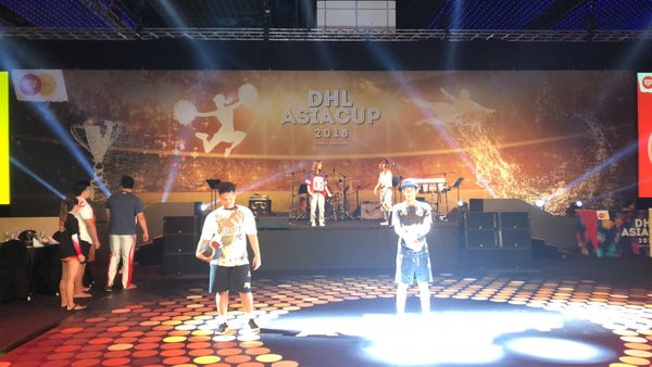 DHL AsiaCup 2018 @ Suntec Convention Hall