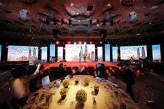 3d projection mapping Singapore Infineon Global Supplier Day 2019 @ Grand Hyatt Malaysia