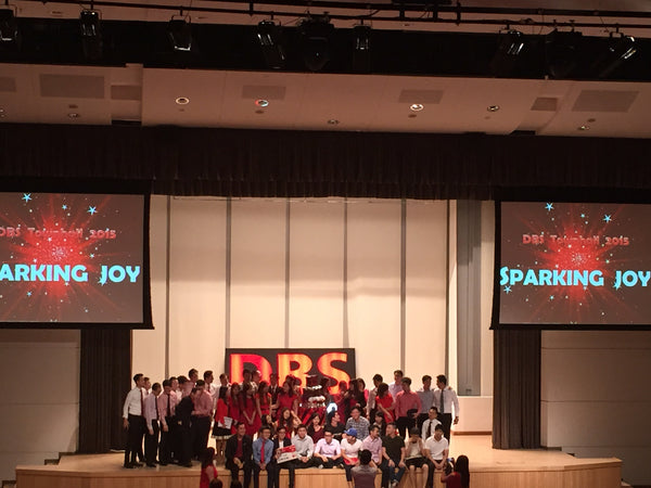 DBS Sparking Joy Townhall Meeting @ NTUC Income Auditorium