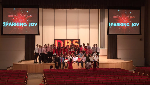 DBS Sparking Joy Townhall Meeting @ NTUC Income Auditorium | DBS Sparking Joy Townhall Meeting @ NTUC Income Auditorium