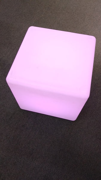 LED Multi Color Cube Chair