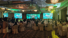 3d projection mapping Singapore CIMB CNY Customer Appreciation Dinner 2020 @ Ritz Carlton