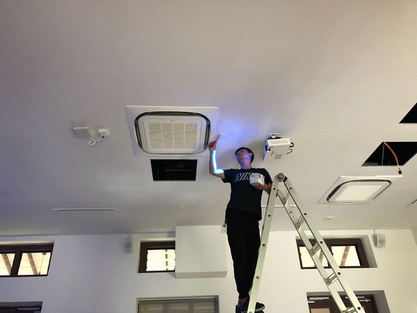 Installation of Projector @ Kwong Wai Shiu Hospital