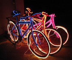 LED Bicycle Kinetic Energy Launch @ Star Vista