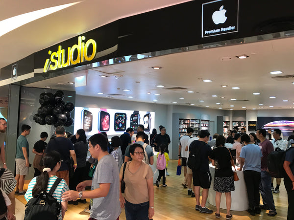 iStudio Apple Product Launch @ Vivocity, ION, Paragon