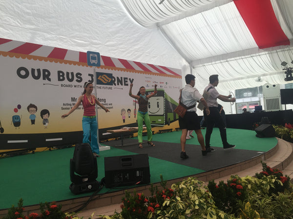 LTA's Our Bus Journey @ Ngee Ann City Civic Plaza