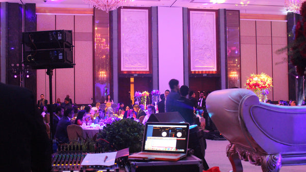 3D Projection Mapping March-In @ Shangri La