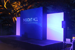 3d projection mapping Singapore Insight HCL Analyst & Advisor Day