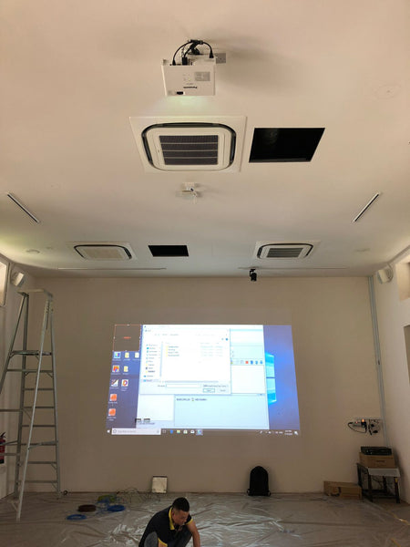 Installation of Projector @ Kwong Wai Shiu Hospital | Installation of Projector @ Kwong Wai Shiu Hospital