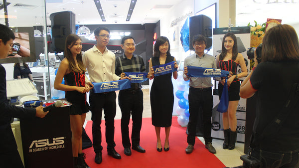 entertainment company singapore | Grand Opening Ceremony - Asus Concept Store @ Causeway Point