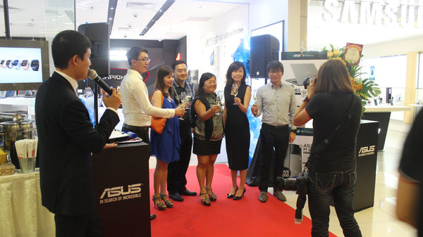 Grand Opening Ceremony - Asus Concept Store @ Causeway Point