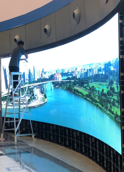 SNEC LED Wall Installation @ Singapore National Eye Centre