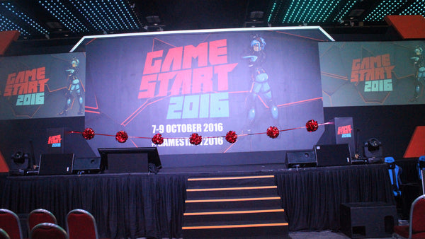 GameStart Opening 2016 @ Suntec Convention