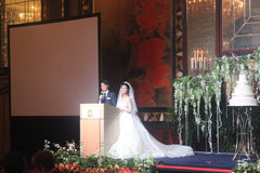 Wedding Private Event Singapore Stephanie's Wedding @ Shangri-La Island Ballroom