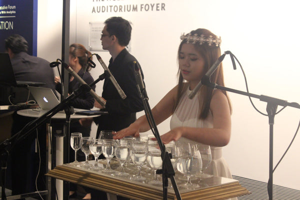 Glass Harpist @ National Gallery