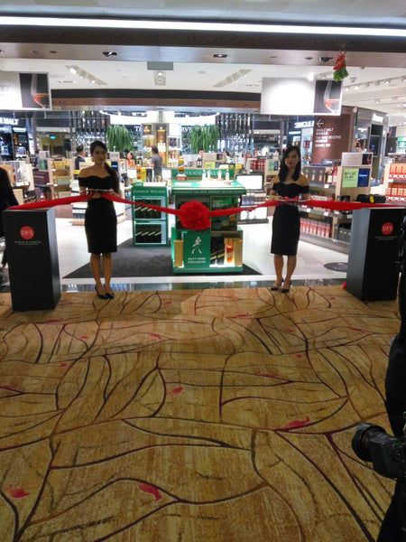 Unveiling Ceremony at DFS Singapore