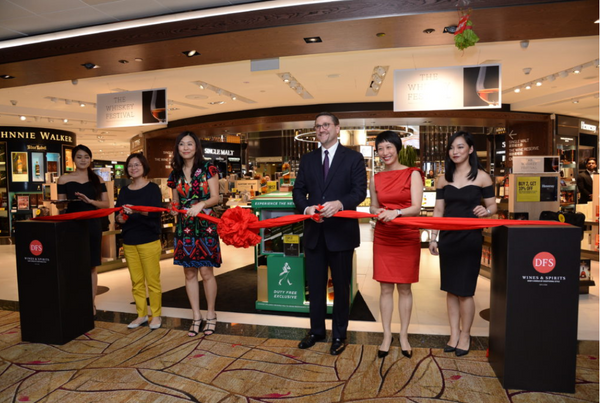 Unveiling Ceremony at DFS Singapore | Unveiling Ceremony at DFS Singapore