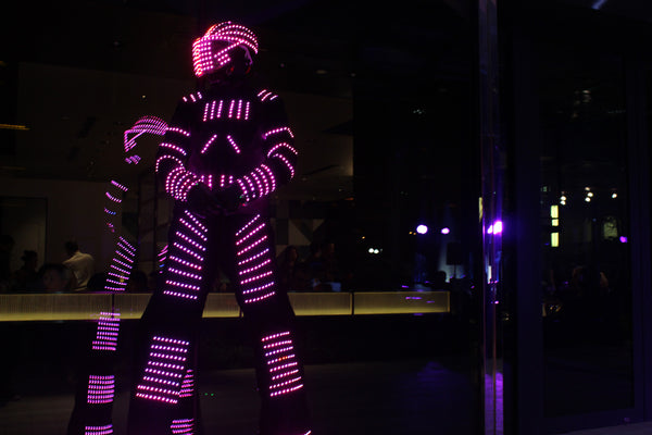LED Robots @ JW Marriot South Beach Hotel
