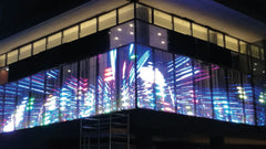 Mega Holographic LED Wall