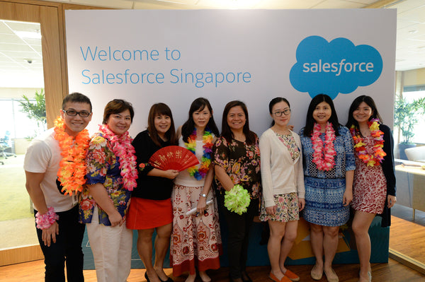 Salesforce Official Opening Ceremony @ Suntec City