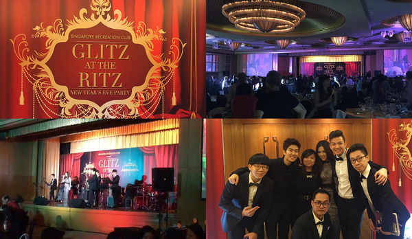 Singapore Recreational Club Countdown Event at Ritz Carlton