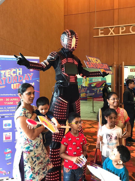 Tech Saturday Upsized! Launch Campaign at Marina Bay Sands Convention