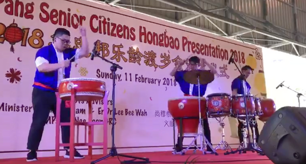 Chinese Drums Act @ Yishun Community Centre | Chinese Drums Act @ Yishun Community Centre