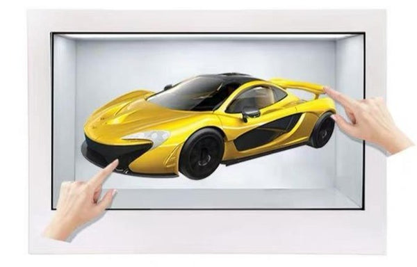 Interactive Holographic 3D Projection Box
