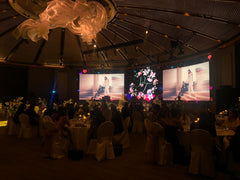 Prestigious Wedding Immersive 3D Mapping Luxury @ Capella, Singapore