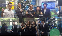 Acappella Performance @ Six Capital at Shenton Way