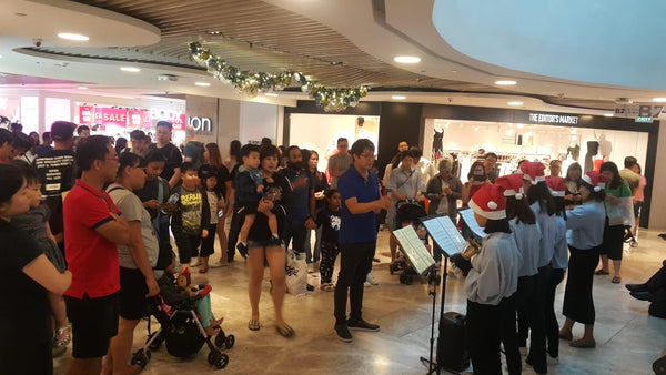 Wheelock Place Christmas  2018 Campaign Activation @ Orchard
