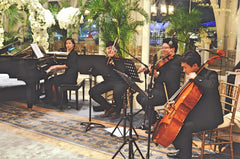 Wedding Private Event Singapore Mixed Classical Ensemble @ Fullerton Bay Hotel