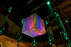 Disco Cube LED Ball