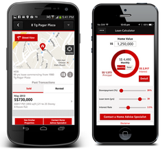 An Innovative Home Loans Mobile User Experience by DBS Bank by interactive digital agency Singapore