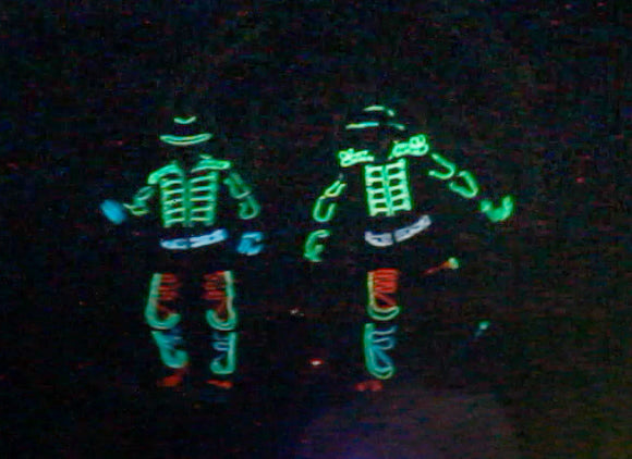 Mandarin Oriental LED Tron Dance Duo | Mandarin Oriental LED Tron Dance Duo
