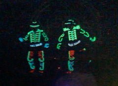 LED Tron Dance Duo @ Mandarin Oriental