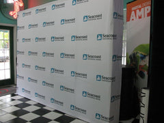 Backdrop for Reception (3D Pop-Up System Backing)