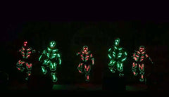 LED TRON DANCE @ Resort World Singapore