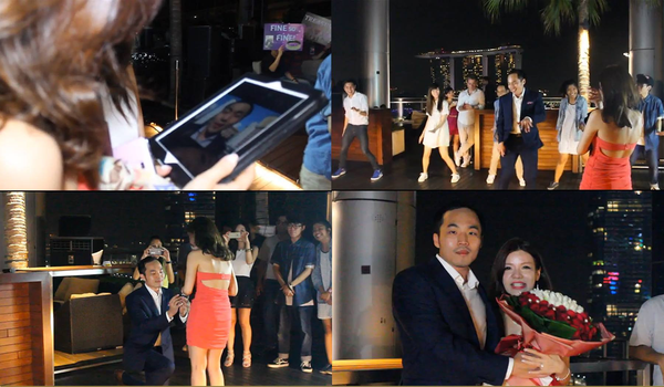 Wedding Proposal @ OUE | Wedding Proposal @ OUE