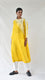 Yellow Silk Shibori Kurta