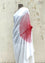 White Red Handsfree Saree