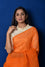 Bandhani on Organza Saree - Orange