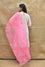 Pure Silk Kurta Set with Bandhani on Organza Dupatta - Pink