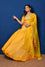 Arashi Organza Gota Patti Lehenga Set - Yellow