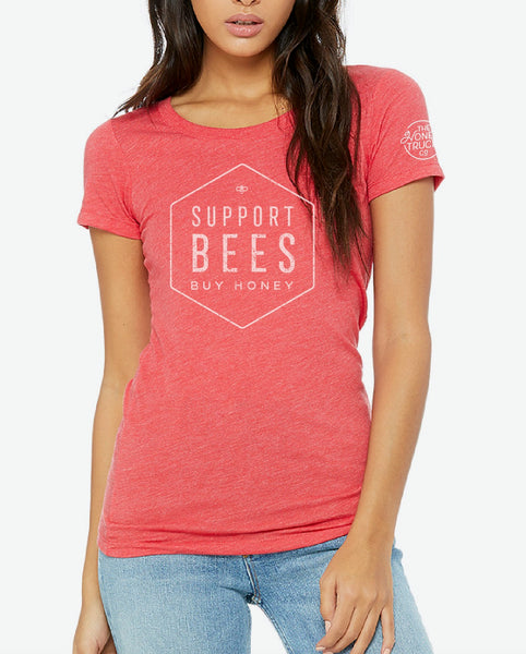 Support Bees Tee Unisex