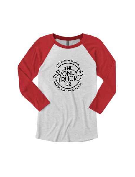 Honey Truck Baseball Tee Unisex