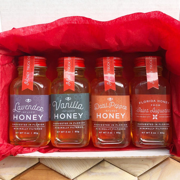 Infused Honey Sampler Set